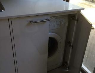 Builtin Washing Machine